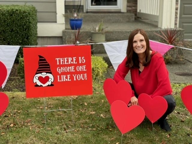 Valentine's Yard Sign